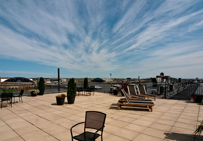 Roof Deck Porter 156 Lofts, East Boston