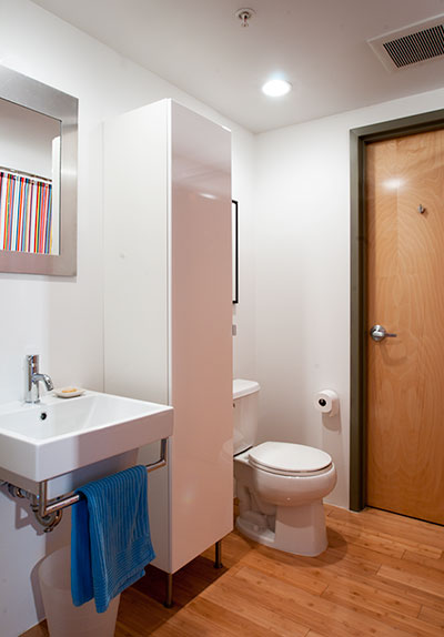 Bathroom,Porter 156 Lofts,East Boston, Unit 336